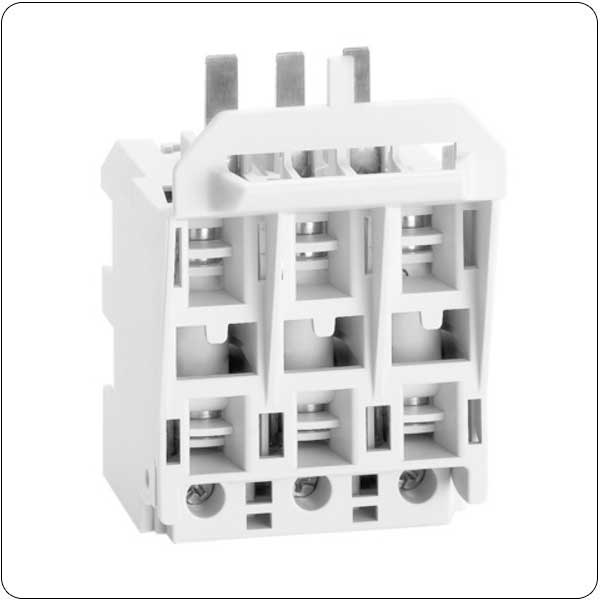 Fuse holder/block for switch disconnectors