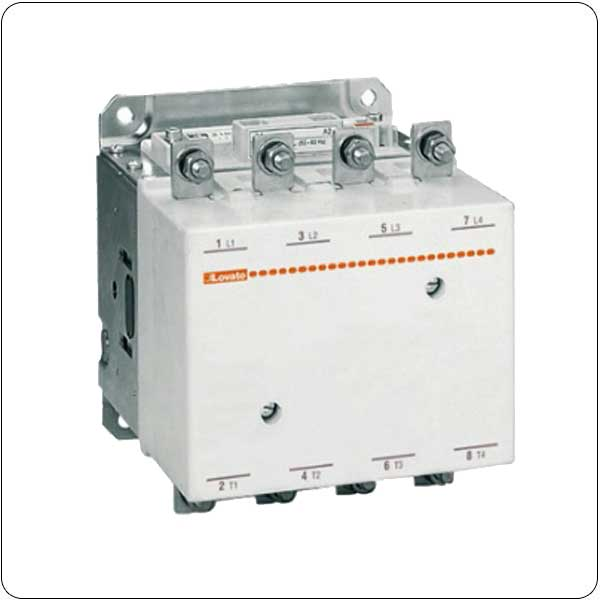 IEC operating current Ith (AC1) = 550A