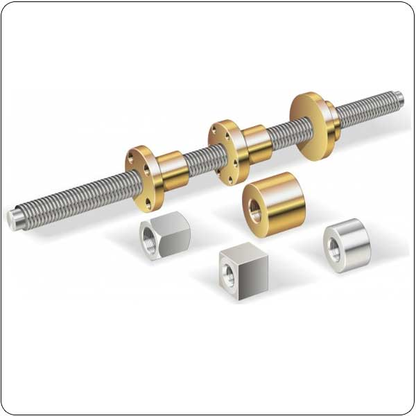 Trapezoidal Leadscrews and nuts