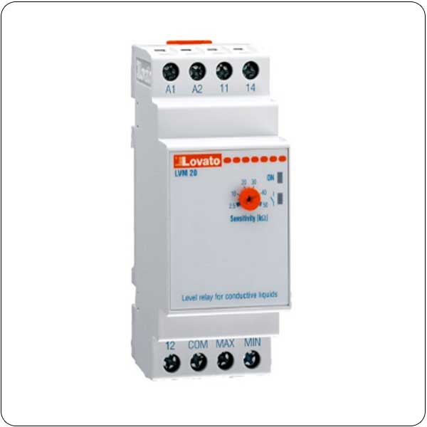 Level monitoring relays