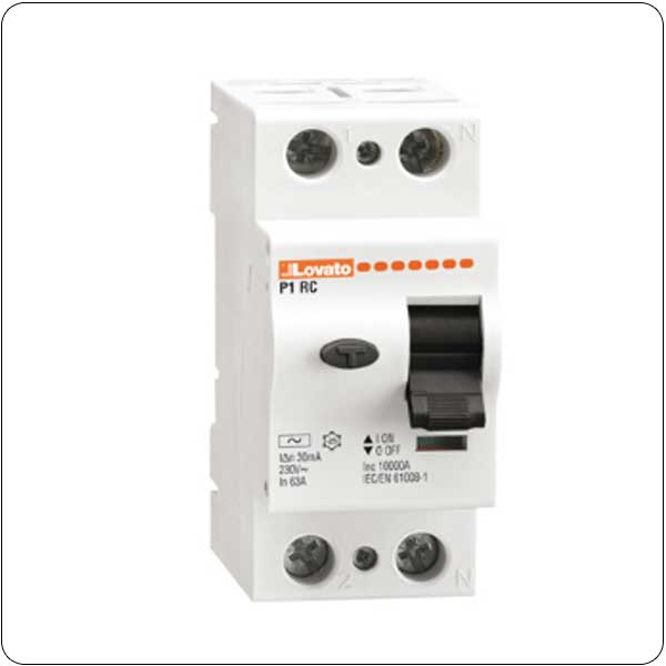 Residual current devices - 2P - type AC