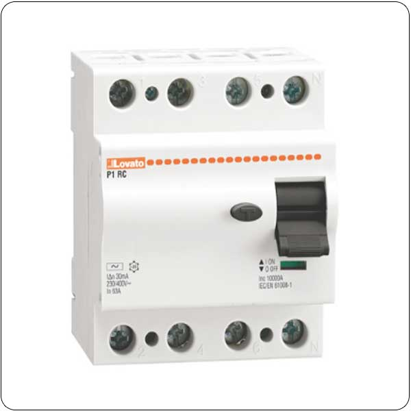 Residual current devices - 4P - type AC
