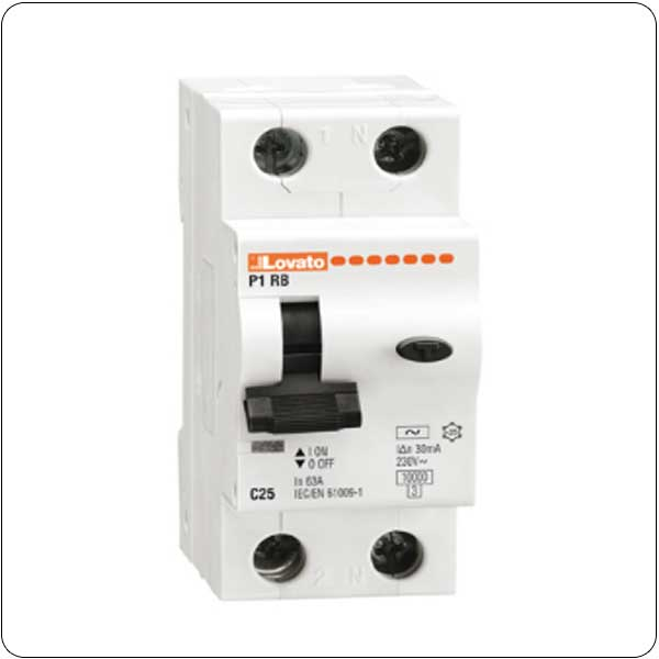 Residual current thermomagnetic circuit breakers - 1P+N - type A