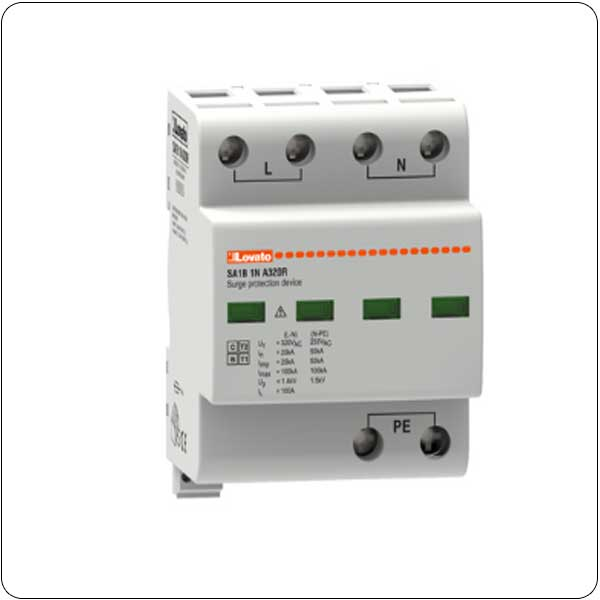 Surge protection devices type 1 and 2 monoblock