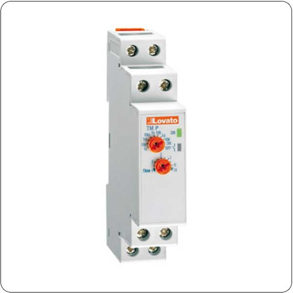On delay time relay. Multiscale. Multivoltage
