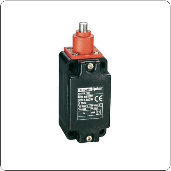 Plastic limit switches T series (dimensions to EN 50041)