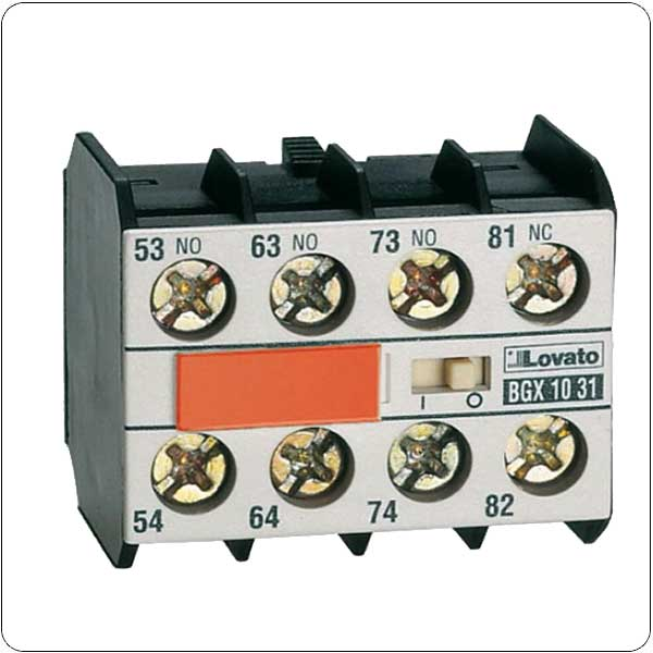 Add-on blocks and accessories for BG series mini-contactors
