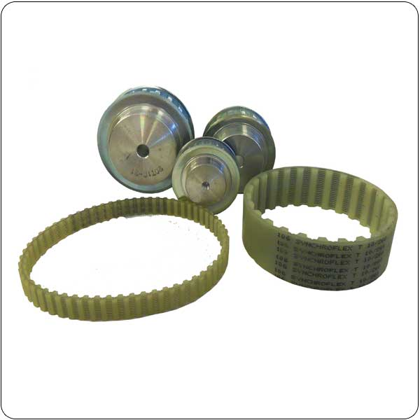 CONTI®  Synchroflex® T and AT Timing Belts & Pulleys