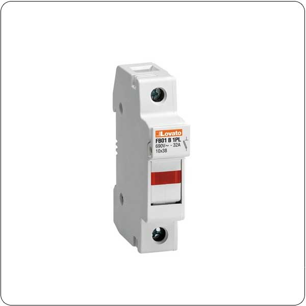 For 10x38mm fuses. 32A rated current at 690VAC