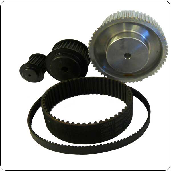 High Torque (HTD) Belts and Pulleys